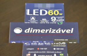 Embalagem LED dimerizável