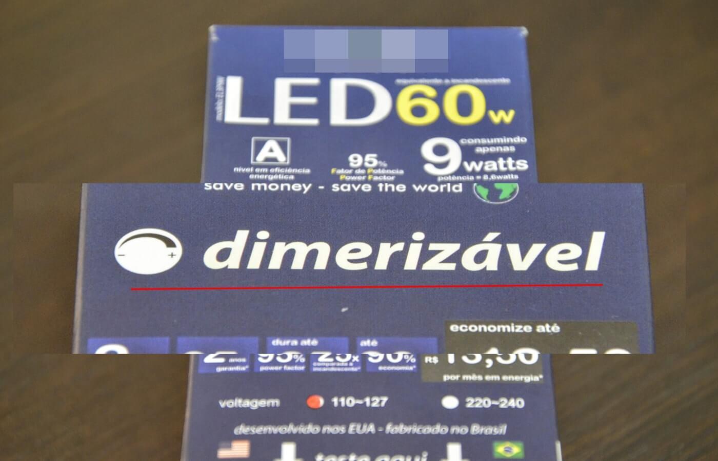 Dimerizável, comprar lâmpadas