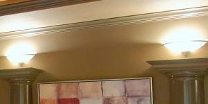 Arandelas de parede para iluminação da sala de TV