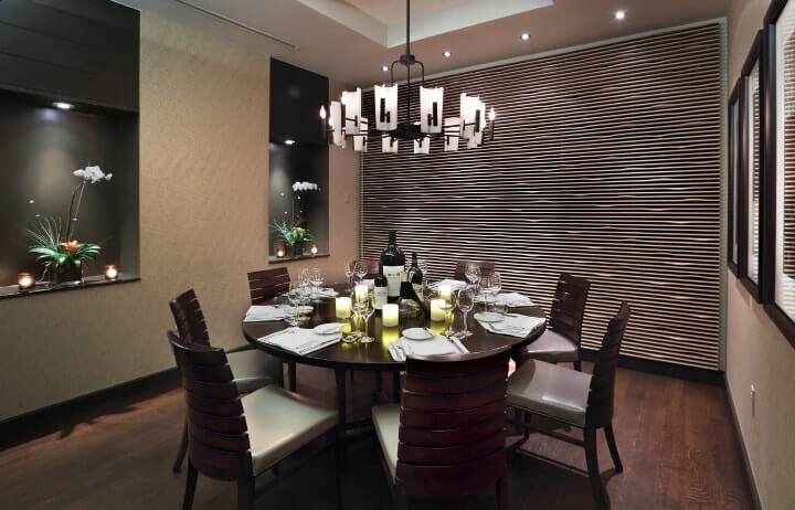 iluminação para a sala de jantar