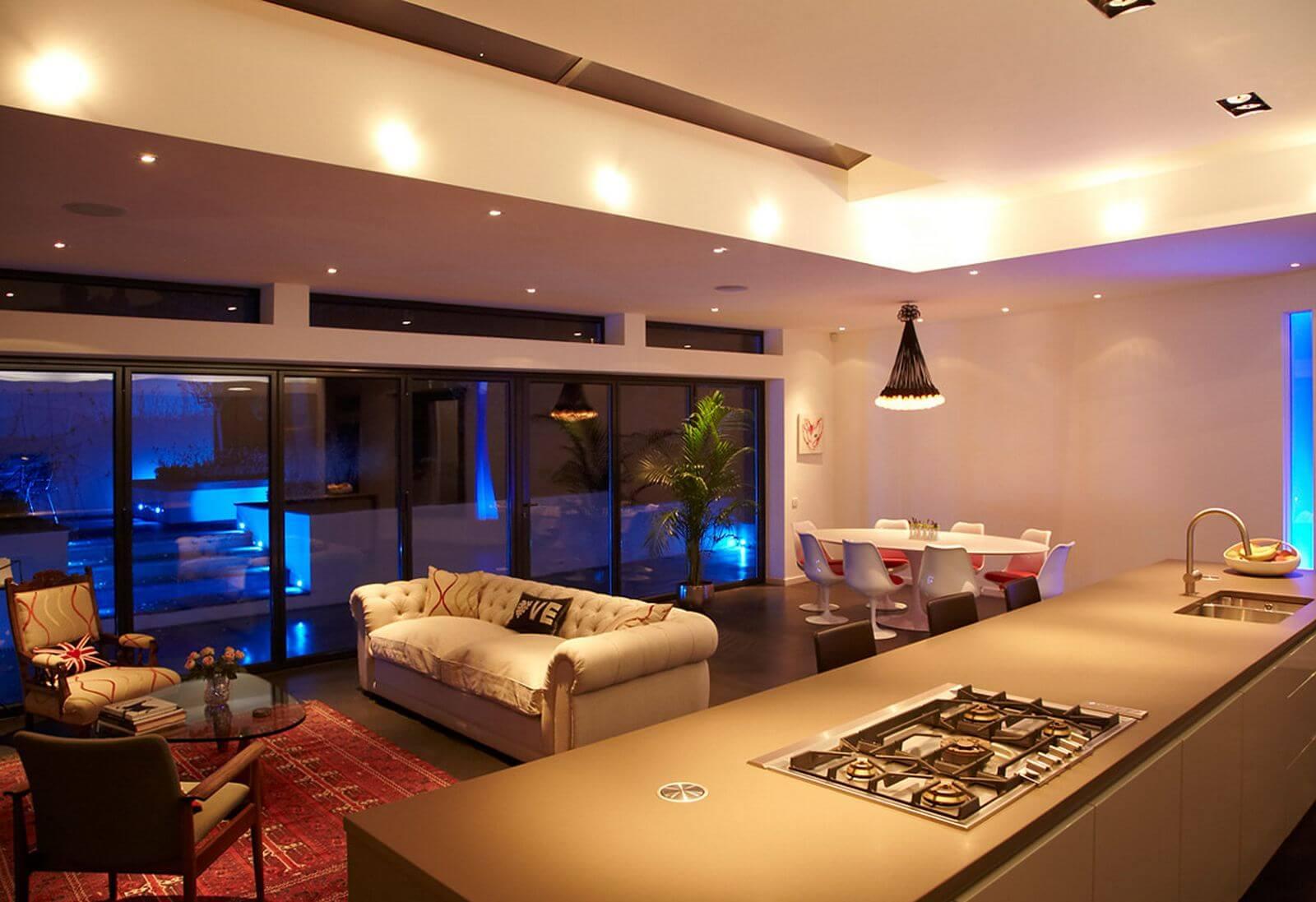 iluminação na arquitetura