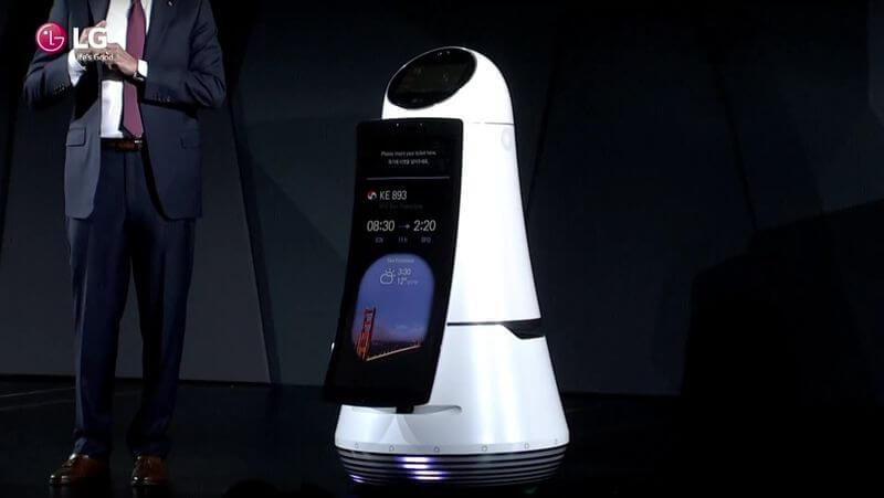 Apresentação do robô Hub