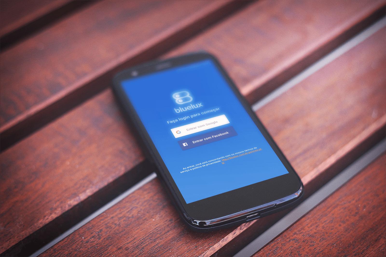 Novo app Bluelux